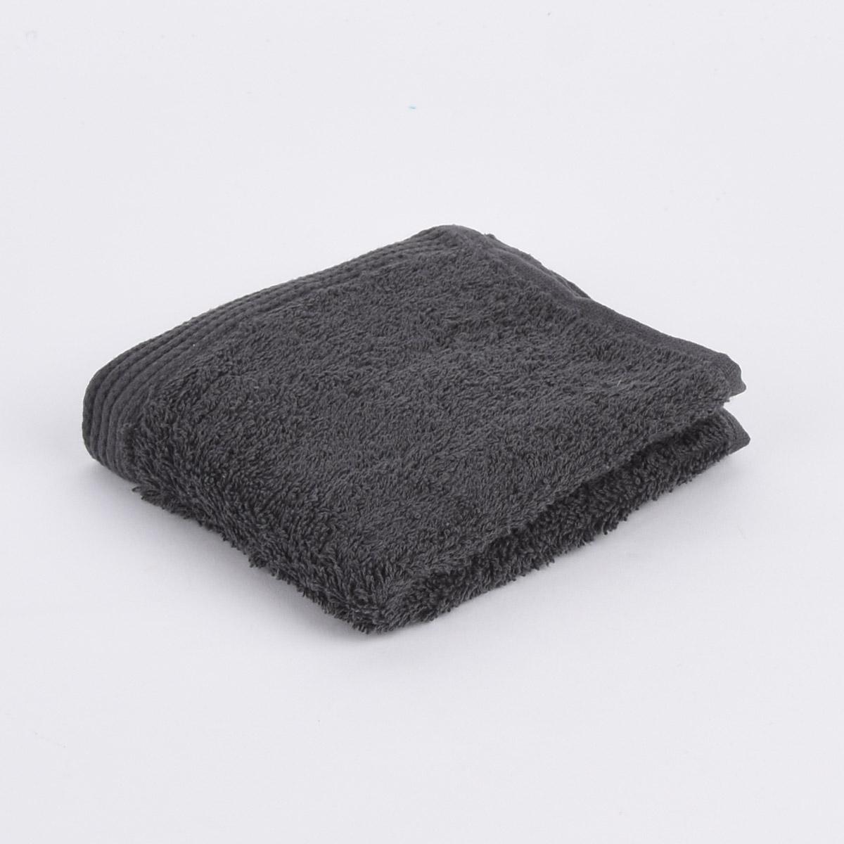 Premium-Frottee Handtuch 100% Baumwolle 580g/qm dunkelgrau
