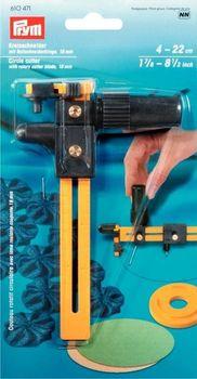 Prym Kreisschneider mit Rollschneiderklinge 18 mm