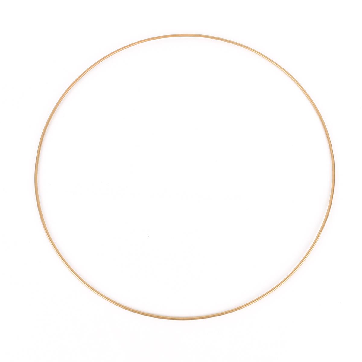 Dekoring Metall goldfarbig 40cm