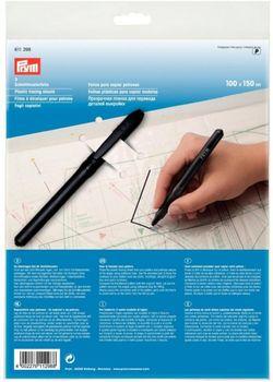 Prym Schnittmusterfolien 1 x 1,5 m mit Stift