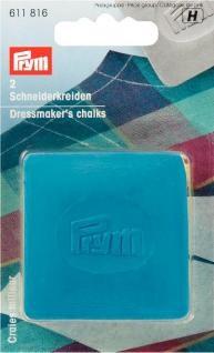 Prym Schneiderkreide-Platten blau/gelb