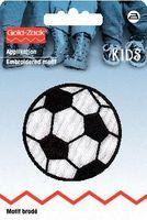 Prym Applikation Fußball mittel Durchmesser 5cm 001