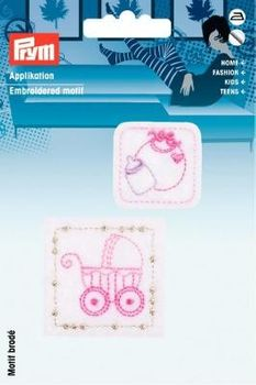 Prym Applikation selbstkl./aufb. Baby Patches