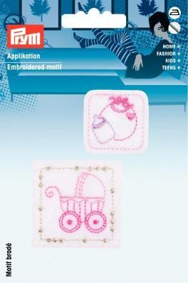 Prym Applikation selbstkl./aufb. Baby Patches