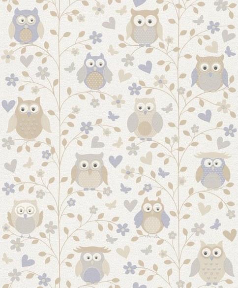 wallpaper for children Tini beige