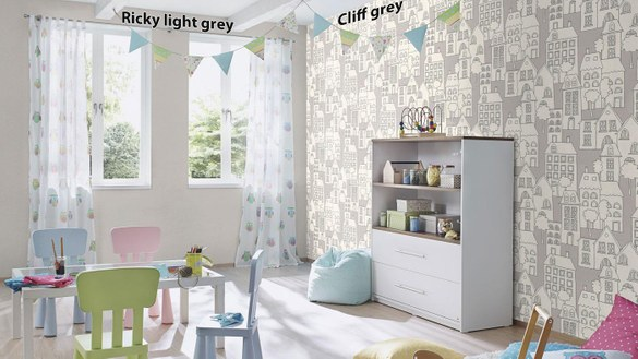 Kindertapete Cliff Grün – Bild 5