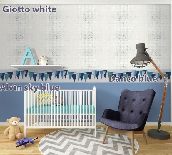 Kinderbordüre Danco Blau – Bild 2