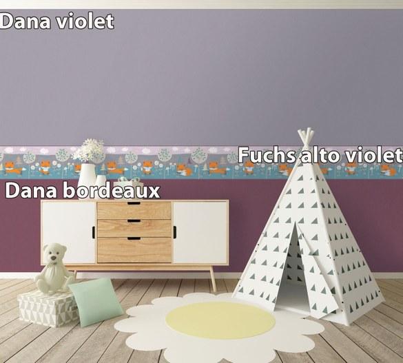 Unitapete Dana Bordeaux – Bild 2
