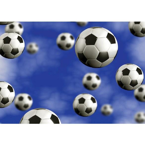 Mural no. 529 | Non-woven or Paper | football wallpaper soccer balls
