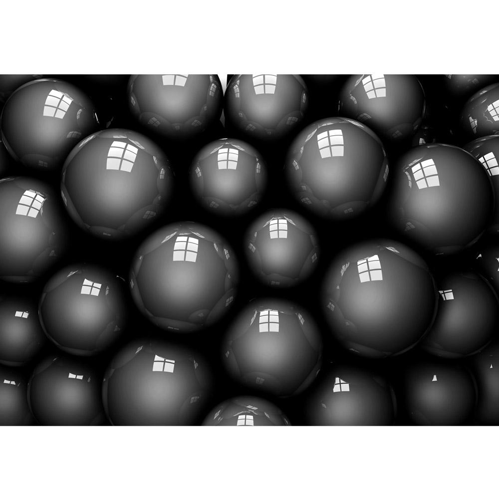 Fototapete no. 769 | Vlies | 3D Tapete Abstrakt Kugel Murmel Beere Fenster Motiv 0769