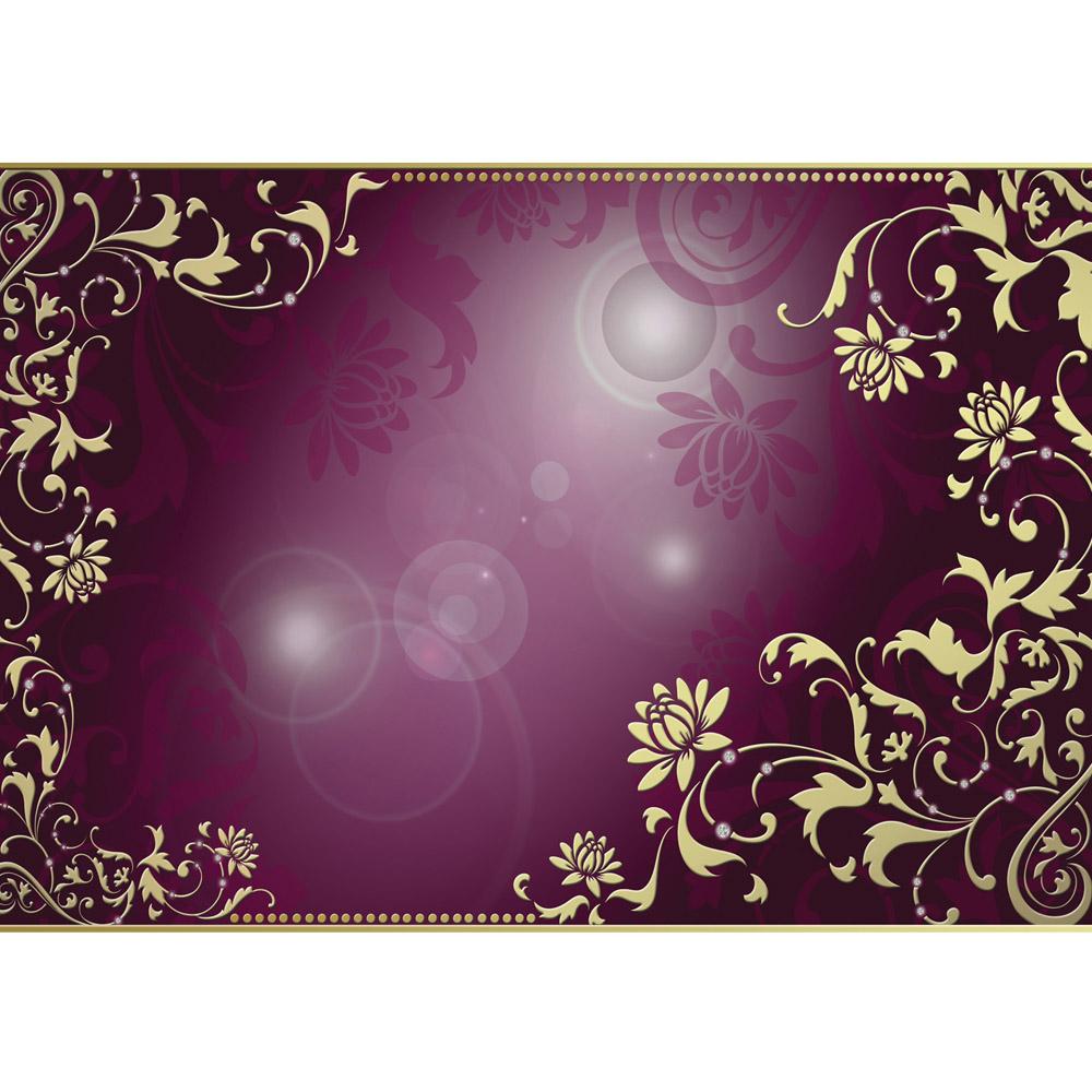 Fototapete no. 821 | Vlies | Ornamente Tapete Diamant Blüten Ranke Schnörkel Motiv 0821