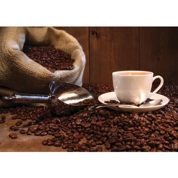 Fototapete no. 866 | Vlies | Kaffee Tapete Kaffeetasse Kaffeebohnen Sach Tasse Motiv 0866