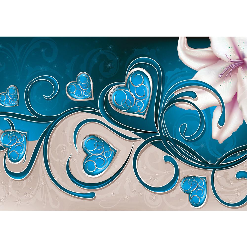 Fototapete no. 1307 | Vlies | Illustrationen Tapete Ornamente Magnolia Hezen Motiv 1307