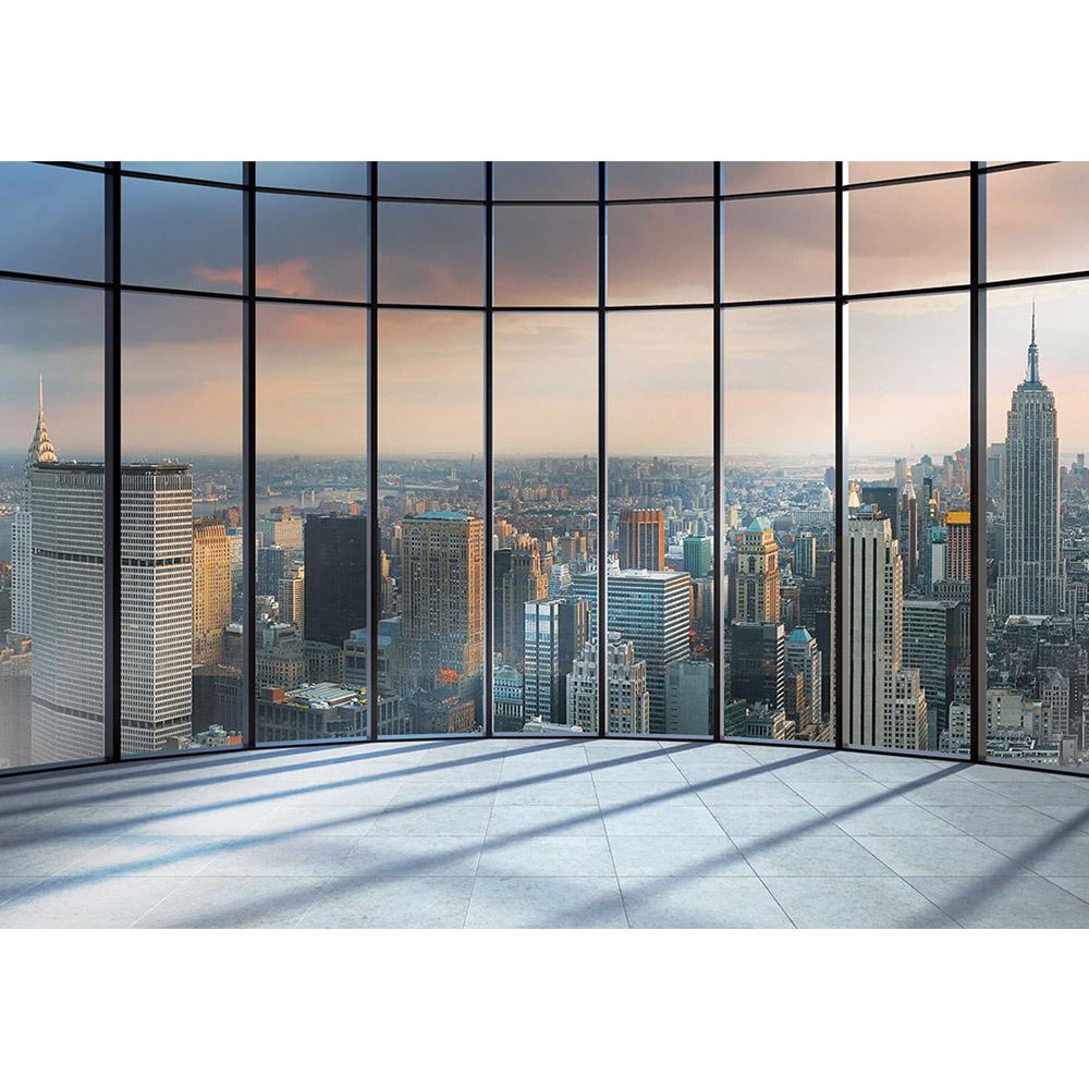 Fototapete no. 1336 | Vlies | New York Tapete Ausblick Panorama Manhattan Skyline Motiv 1336