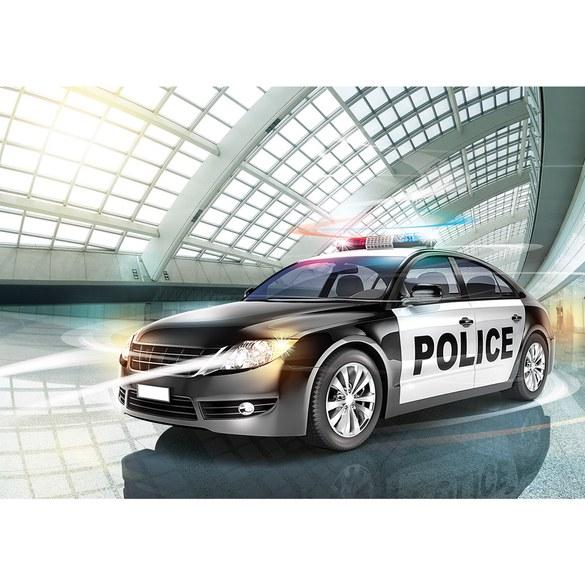 Fototapete no. 1351 | Vlies | Illustrationen Tapete Polizei Auto Alarmanlage Motiv 1351