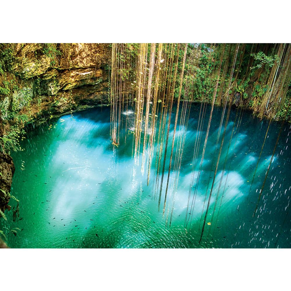 Fototapete no. 1354   Vlies   Wasser Tapete Fische Felsen Paradies blau Motiv 1354