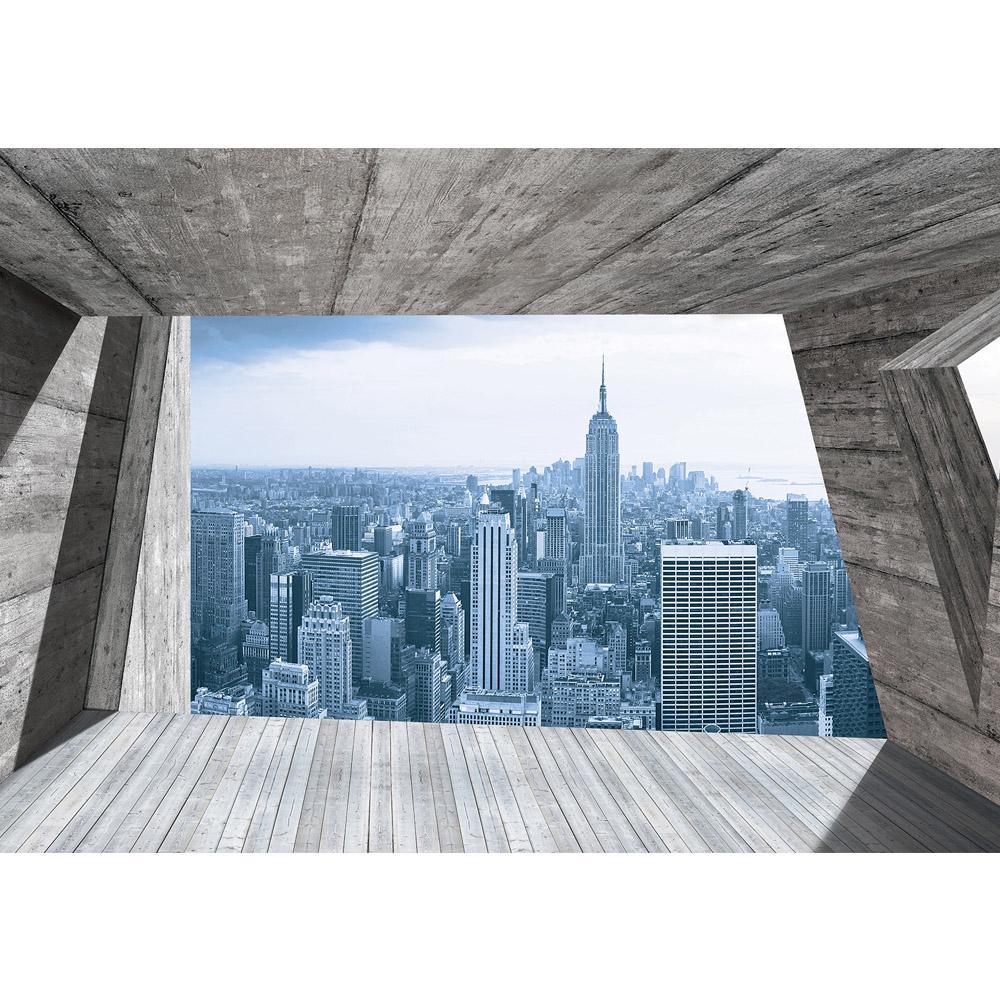 Fototapete no. 1397   Vlies   New York Tapete Tower Skyline Terrasse Ausblick Motiv 1397