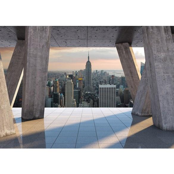 Fototapete no. 1548 | Vlies | Skylines Tapete Skyline Stadt New York Himmel Motiv 1548
