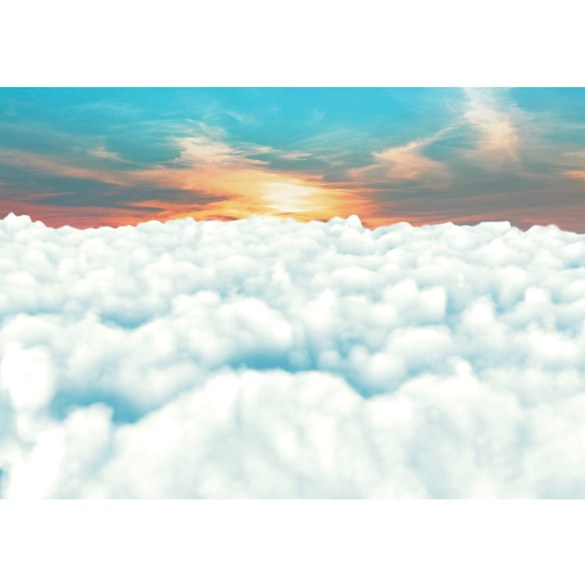 Mural no. 1862 | Non-woven or Paper | sunrise wallpaper clouds sky blue