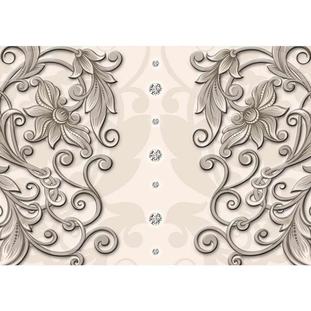 Fototapete no. 1881 | Vlies | Illustrationen Tapete Ornamente Ranke Blumen Motiv 1881