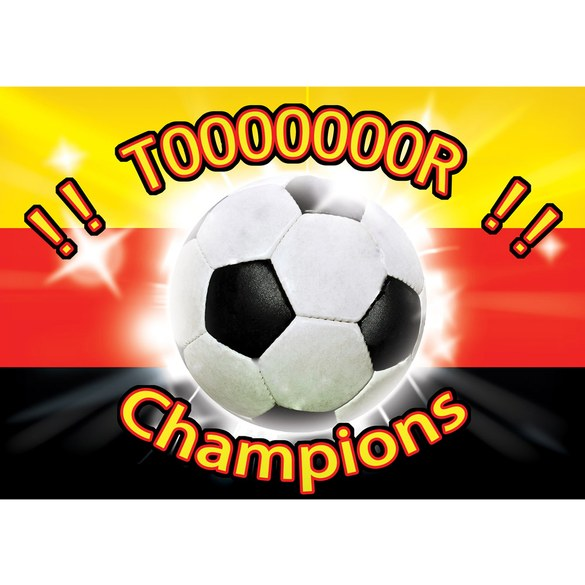 Mural no. 1926 | Non-woven or Paper | football wallpaper tor champions