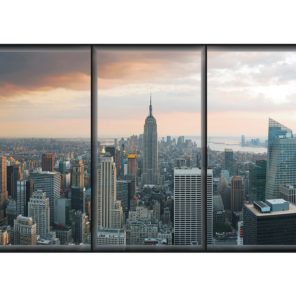 fototapete no 1929 vlies new york tapete skyline. Black Bedroom Furniture Sets. Home Design Ideas