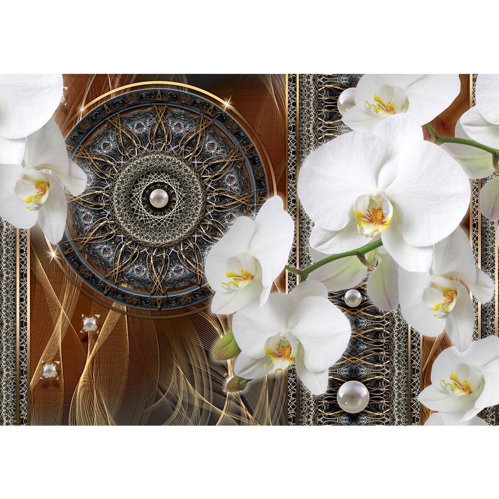 Fototapete no. 2033 | Vlies | Ornamente Tapete Traumfänger Mandala Geflecht Motiv 2033