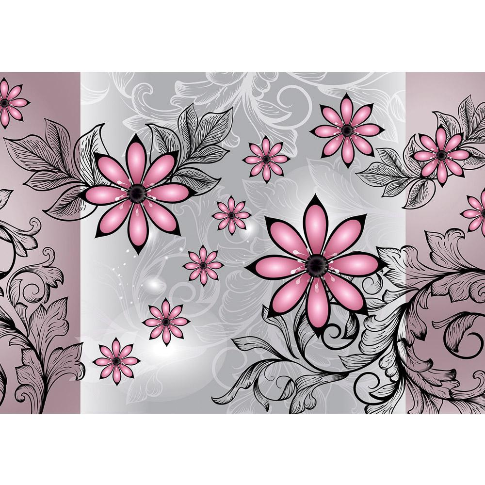 Fototapete no. 2099   Vlies   Ornamente Tapete Blumen Blüte Blätter Ranken Motiv 2099