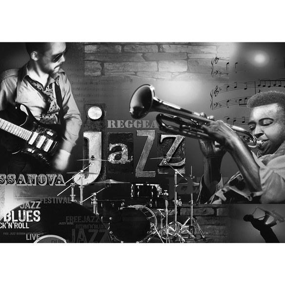 Mural no. 2128 | Non-woven or Paper | art wallpaper music jazz reggae