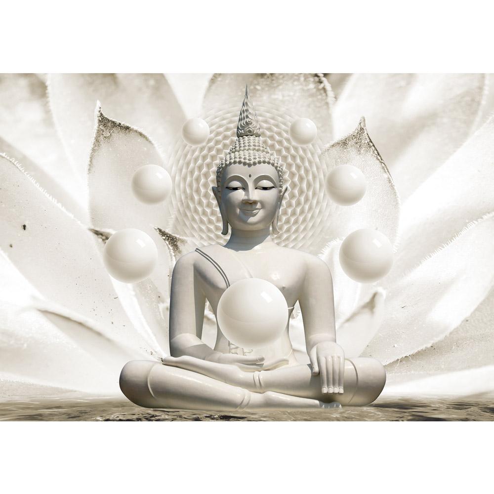 Fototapete no. 2149   Vlies   Wellness Tapete Buddha Meditation Entspannung Motiv 2149