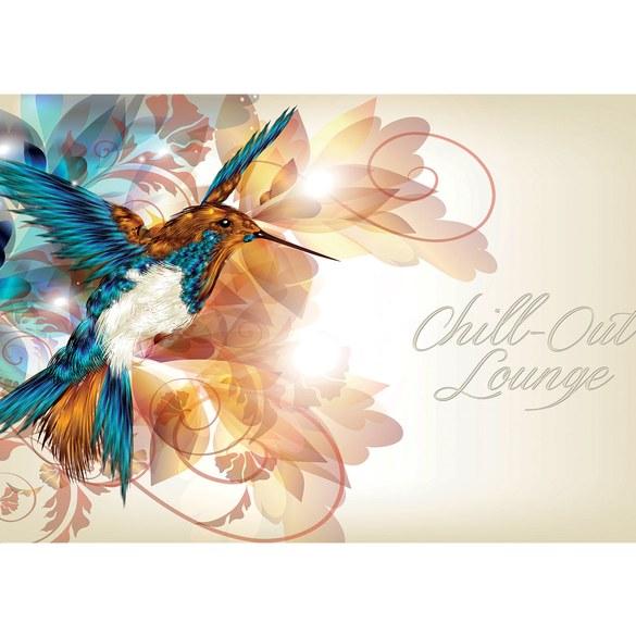 Mural no. 2189 | Non-woven or Paper | wellness wallpaper hummingbird bird