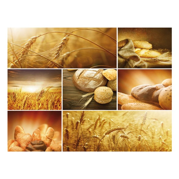 Mural no. 2496 | Non-woven or Paper | culinary wallpaper bread wheat cereal