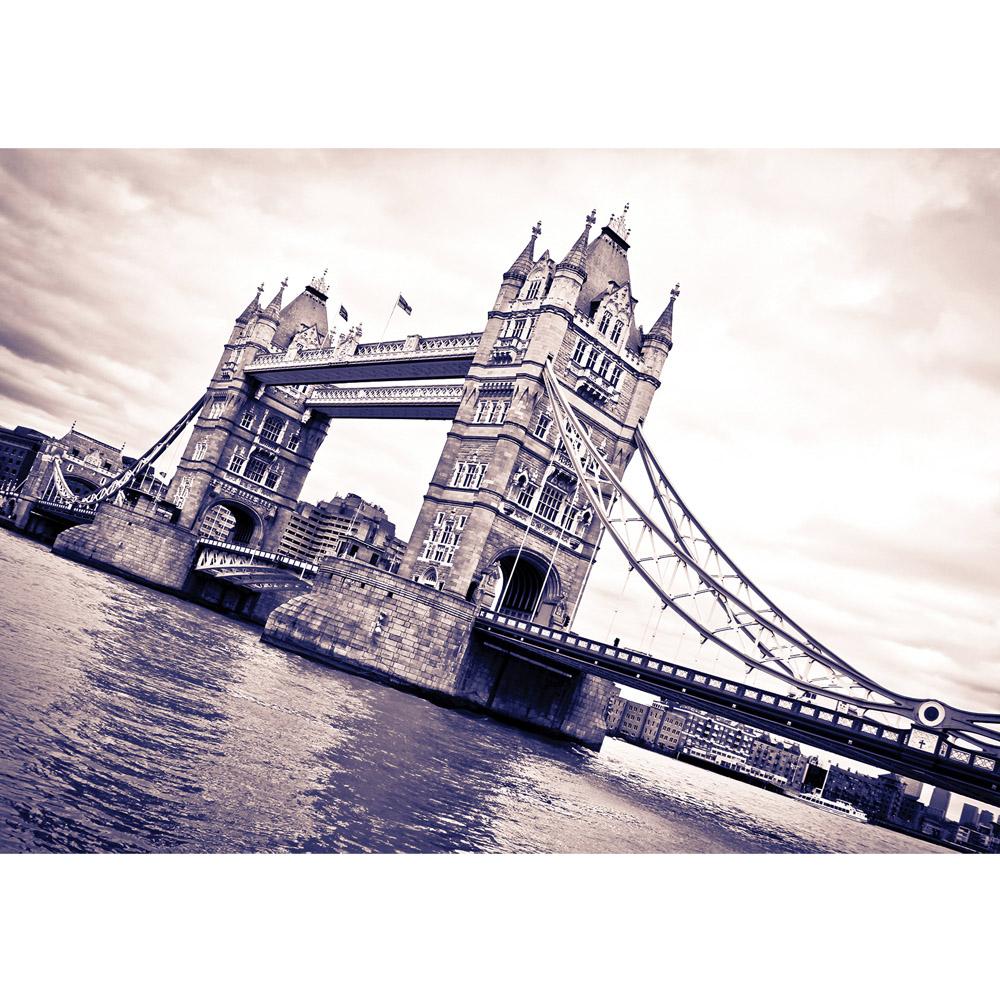 Fototapete no. 2595 | Vlies | London Tapete Tower Bridge Themse Wasser Türme Motiv 2595