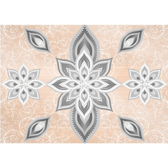 Mural no. 2605 | Non-woven or Paper | art wallpaper floral flowers ornaments