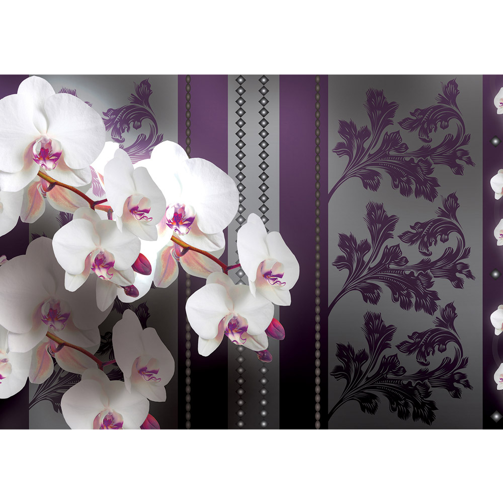Fototapete no. 2745   Vlies   Orchideen Tapete Orchidee Illustration Ornamente Motiv 2745