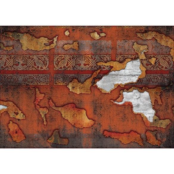 Fototapete no. 2786 | Vlies | Texturen Tapete Muster Holz Farbe Zeichen braun Motiv 2786