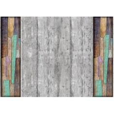 Fototapete no. 2787 | Vlies | Holz Tapete Muster Kunst Holzwand grau Motiv 2787
