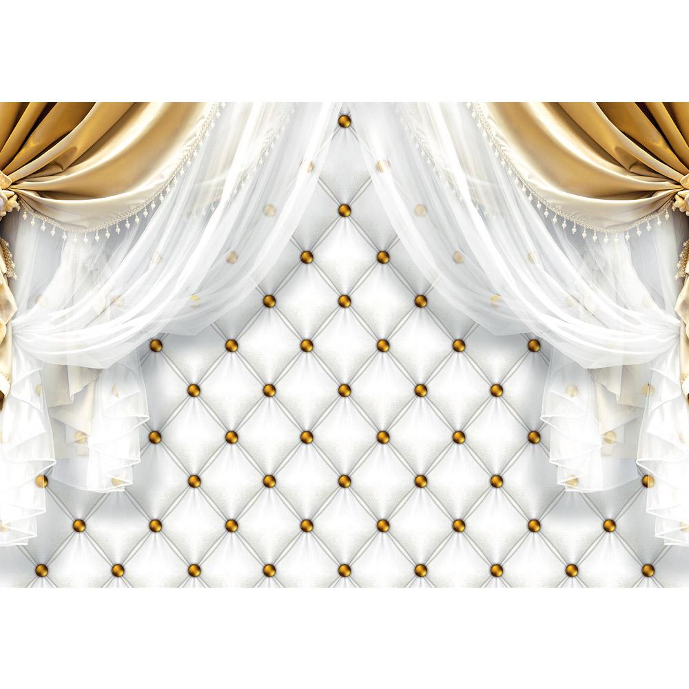 Fototapete no. 2812 | Vlies | Ornamente Tapete Gardine Vorhang Bordüre Blumen Motiv 2812