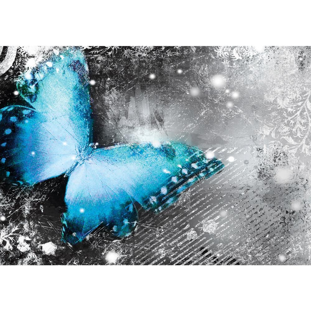 Fototapete no. 2827 | Vlies | Kunst Tapete Ornamente Streifen Schmetterling Motiv 2827