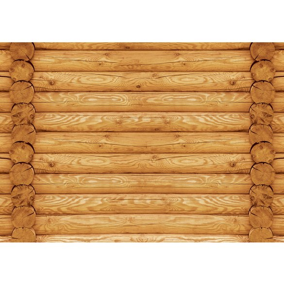 Mural no. 2855 | Non-woven or Paper | wood wallpaper wall look trunk beams