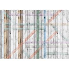Fototapete no. 2877 | Vlies | Holz Tapete Holzoptik Holzwand Muster grau Motiv 2877