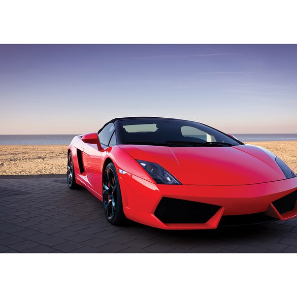 Mural no. 2919 | Non-woven or Paper | cars wallpaper car sports beach