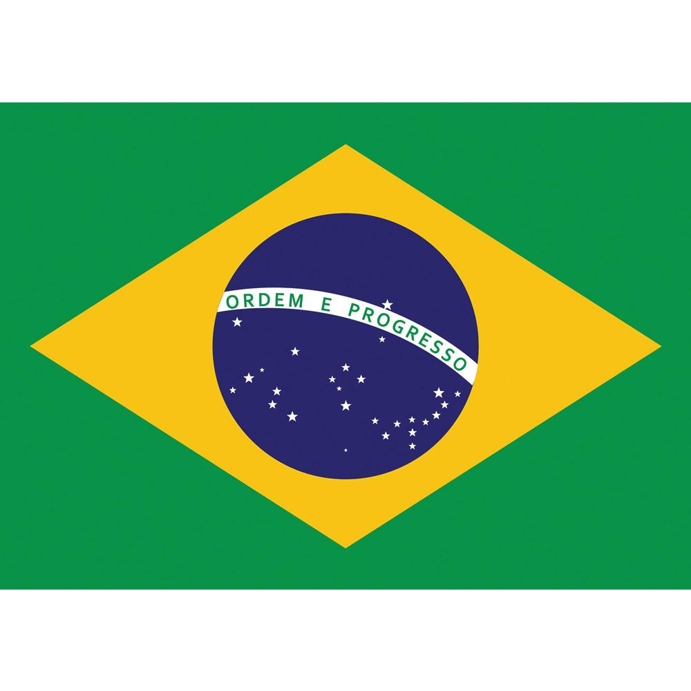 Fototapete no. 3048 | Vlies | Geographie Tapete Brasilien Flagge Sterne Kreis Motiv 3048