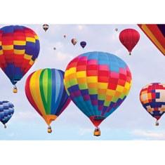 Fototapete no. 3055 | Vlies | Himmel Tapete Heißluftballon Muster Farben bunt Motiv 3055
