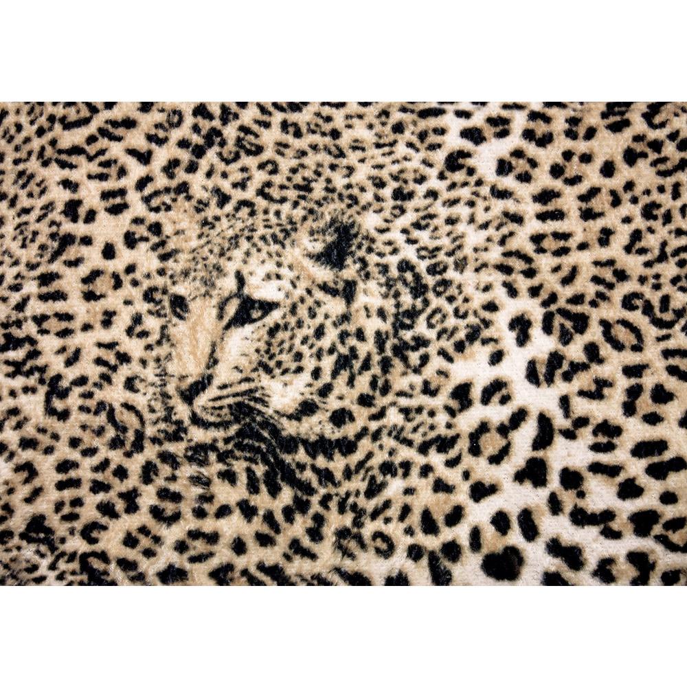 Fototapete no. 3076 | Vlies | Tiere Tapete Leopard Muster Natur Kopf braun Motiv 3076