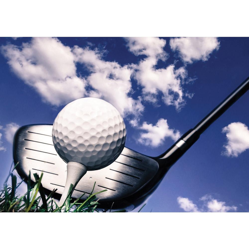 Fototapete no. 3077 | Vlies | Sport Tapete Golf Golfball Golfschläger Himmel Motiv 3077