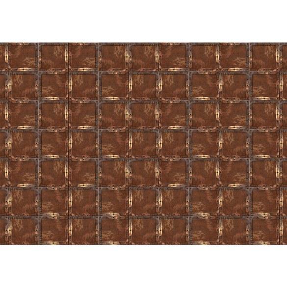 Fototapete no. 3088 | Vlies | Texturen Tapete Stahl Rechtecke Kacheln Vintage Motiv 3088
