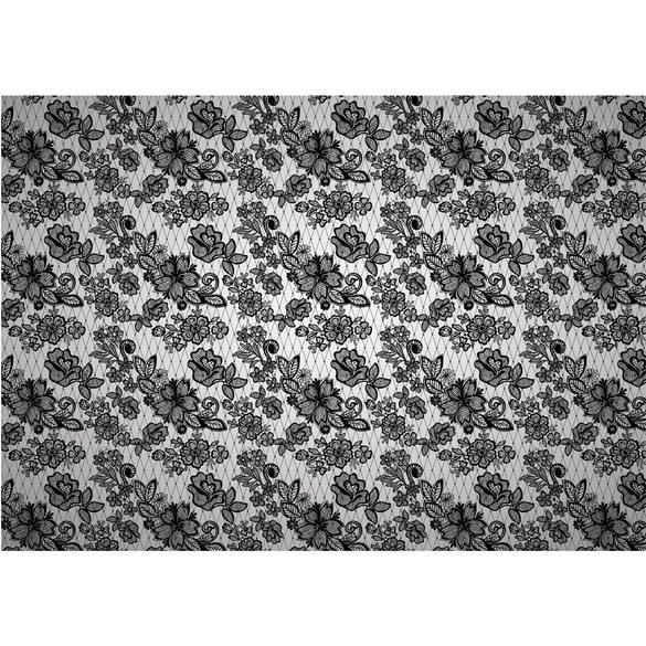 Fototapete no. 3091 | Vlies | Illustrationen Tapete Illustration Blumen Vintage Motiv 3091