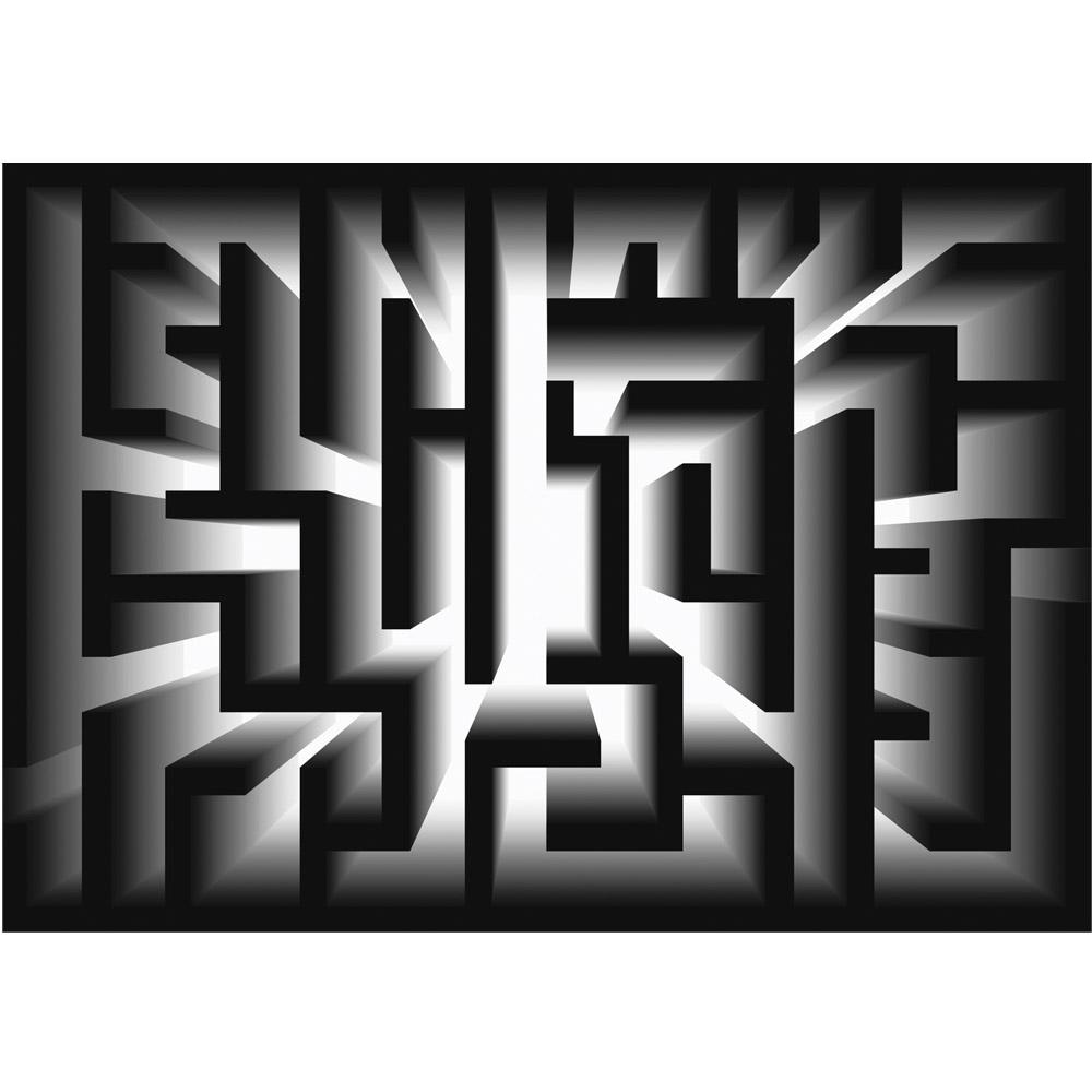 Fototapete no. 3111 | Vlies | Illustrationen Tapete Labyrinth Illustration Motiv 3111
