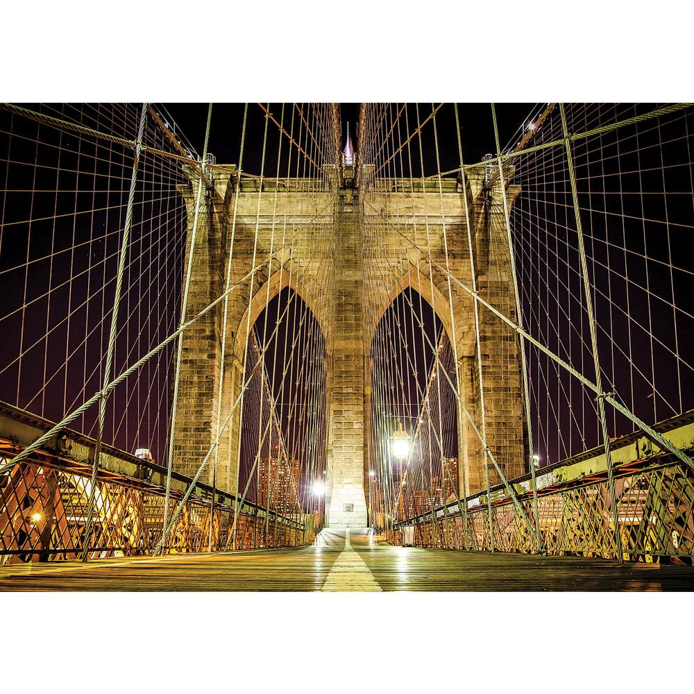 Fototapete no. 3165   Vlies   Brücken Tapete Brücke Nacht schwarz Motiv 3165